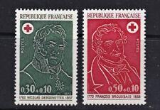 France Postage Stamps 1972 Red Cross Issue MNH UM (2v).