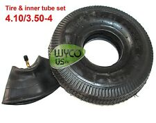 Tire And Inner Tube Set, 4.10/3.50-4, 4.10X3.50-4, Fit For Go-Kats, Snow Blowers