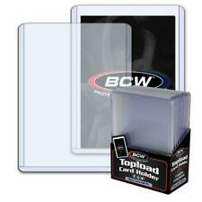 2 PK LOT 10CT NEW BCW THICK CARD 12MIL 138PT TRDG CARD TOP LOADERS 3X4 (20 TTL)