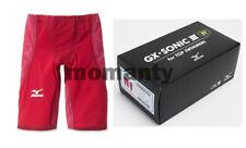 MIZUNO Swim Suit Men GX-SONIC III ST FINA N2MB6001 Red Swimwear