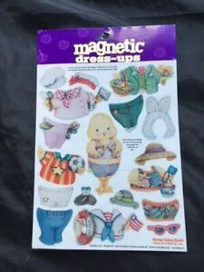 Easter Chick Magnetic Dress-Up.   Factory Sealed