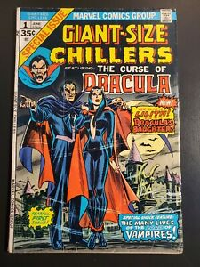 Giant Size Chillers (1974) VG- (3.5) Dracula, 1st appearance Lilith |