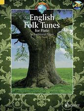 English Folk Tunes for Flute 54 Traditional Pieces - Bk Cd Woodwind 049045454
