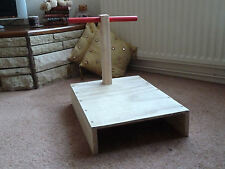 T-bar Positioning Stand Spanking furniture  (cane)