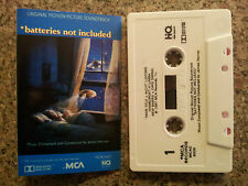BATTERIES NOT INCLUDED - MOTION PICTURE SOUNDTRACK CASSETTE TAPE VGC RARE!
