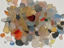 1pack bag dollhouse miniature sea ocean glass pebbles KIT for globe bottle