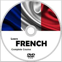 Learn to speak FRENCH COMPLETE LANGUAGE COURSE DVD ROM MP3 AUDIO PDF TEXTBOOKS