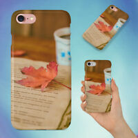 BEVERAGE BOOK CAFFEINE COFFEE HARD BACK CASE FOR APPLE IPHONE PHONE