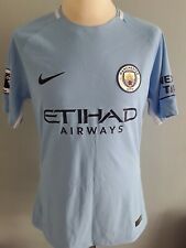 Manchester City Player Issue Shirt. Match Worn.Large Mens.