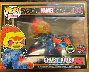 Ghost Rider #33 Black Light Popcultcha Exclusive - Marvel - Funko Pop! Vinyl