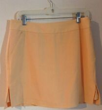 Izod Golf Yellow Skort Skirt Size 10   A14
