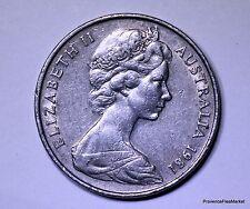 monnaie australie 20 cents 1981 cupro-nickel AC376