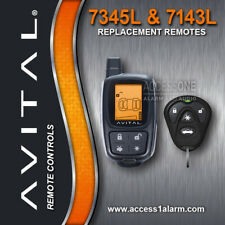 Avital 7345L 2-Way LCD Remote Control And 7143L Companion Remote For 3305L NEW