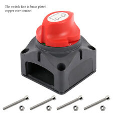 AU Car SUV RV Marine Boat 12V Battery Isolator Disconnect Rotary Switch On/Off