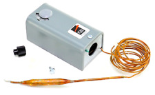 Johnson Controls A19ABC-24 A19ABC-24C -30/100F 8' Cap SPDT Temp Control -New OEM