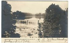 c1906 Wappingers Lake Wappingers Falls NY New York Vintage Real Photo Postcard