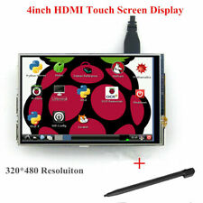 "4"" HDMI TFT LCD Touch Screen 320×480 IPS Resistive Display for Raspberry Pi CHU"