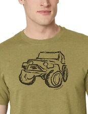 Medium NWT Men's Life is Good 4x4 ATV Good Times Green SS Lightweight Cool Tee