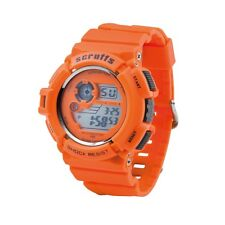 Scruffs Sports digitale lavoro Watch ORANGE-Urti E IMPERMEABILE-t51415.5