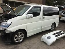 nissan elgrand parts e51 wrecking damaged car elgrand parts in sydney jdm
