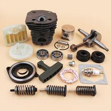 44mm Cylinder Piston Crankshaft Bearing Fit Husqvarna 350 351 353 346 XP 340 345