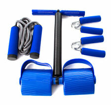 Portable Training Set ( Hand Grips, Jump Rope and Spring Action-Rower)