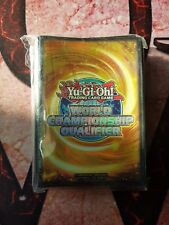 YuGiOh World Championship Qualifier 2013 Protectors Sleeves Green sealed