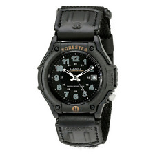 NEW CASIO FORESTER WATCH WITH ANALOGUE 3-HAND DISPLAY & DATE BLACK FT500WC/1BVER