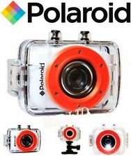 Sports Action Camera Polaroid XS7 HD 720p 5MP Waterproof LCD Touch Screen