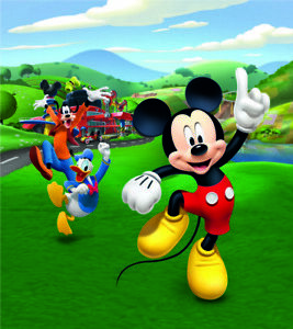 Mickey Mouse wall mural wallpaper children's bedroom PREMIUM Disney wall decor