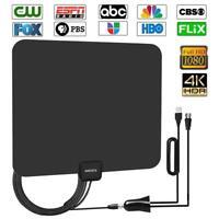 80 Mile Range TV Antenna Digital HD 4K Antena Digital Indoor HDTV 1080p US Ship