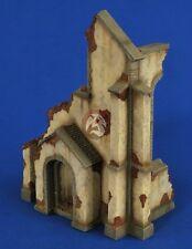 Verlinden 1/35 Ruined Church Corner Entrance Section [Plaster Diorama kit] 2598