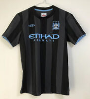 Boys Manchester City third shirt size LB/152 10-11 years approx Umbro 2012-2013