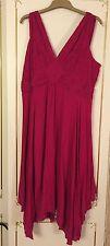 Per Una V-Neck Midi Plus Size Dresses for Women