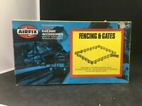 HO OO Gauge Model Railway Airfix fencing & gates clotures 03613-9 Boxed
