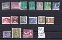 Berlin ... Michel Nr.  140 - 154   ... Postfrisch