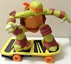 Teenage Mutant Ninja Turtle Mikey On Skateboard  figure only ship fast