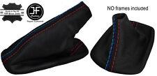 RED STITCH LEATHER SHIFT & E BRAKE BOOTS FOR BMW E36 E46 M3 91-05 M/// STITCH