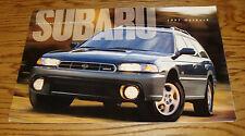 Original 1997 Subaru Outback Deluxe Sales Brochure 97