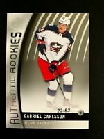2017-18 SP Game Used #89 Gabriel Carlsson/53 TRUE RC