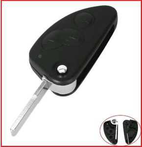 3B Replacement  Remote flip car key shell suitable for Alfa Romeo 147 156 GT