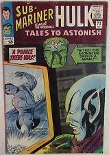 Marvel Comics - Tales to Astonish - #72 - 1960s Silver Age - Hulk & Sub-Mariner