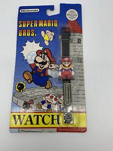 Vintage Super Mario Bros 1992 LCD Hand Watch Nintendo BRAND NEW SEALED