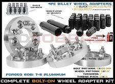 """Audi & Volkswagen 5x100 MM To 5x114.3 MM (5x4.5"""") 1"""" Thick Conversion Adapters"""