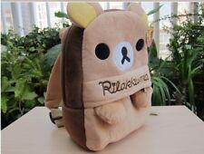 San-X Rilakkuma Relax Bear Kid's Backpack Kindergarten School Bag Birthday Gift