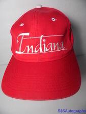 VTG 1990s INDIANA HOOSIERS IU The Game BAR SNAPBACK NCAA Hat Cap BIG 10