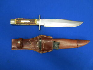 "Vintage ""Edge Brand"" German Bowie Knife, Solingen Germany Fine Condition!"