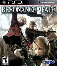 NEW PS3 Resonance of Fate Sega Rated T Teen Blazing Gun Battles RPG Redefined