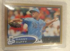 2012 Topps Gold 194 Danny Duffy Royals 1097/2012