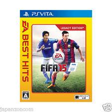 FIFA 15 EA Best Hits PS Vita SONY JAPANESE NEW JAPANZON